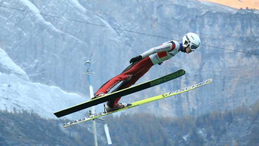 Skispringen Video